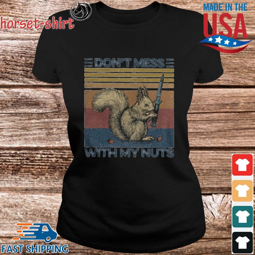Funny Squirrel dont mess with my nuts vintage s ladies den