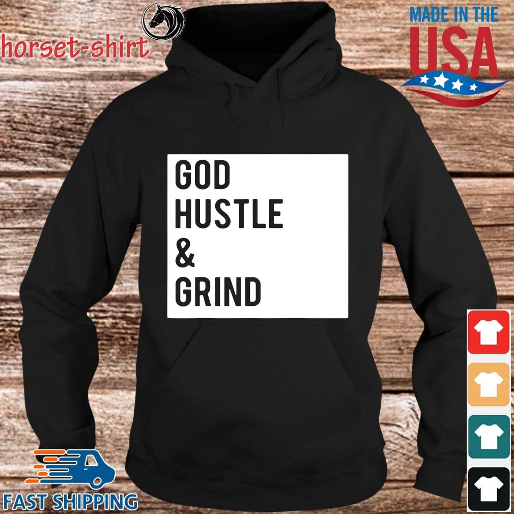 God hustle and grind s hoodie den