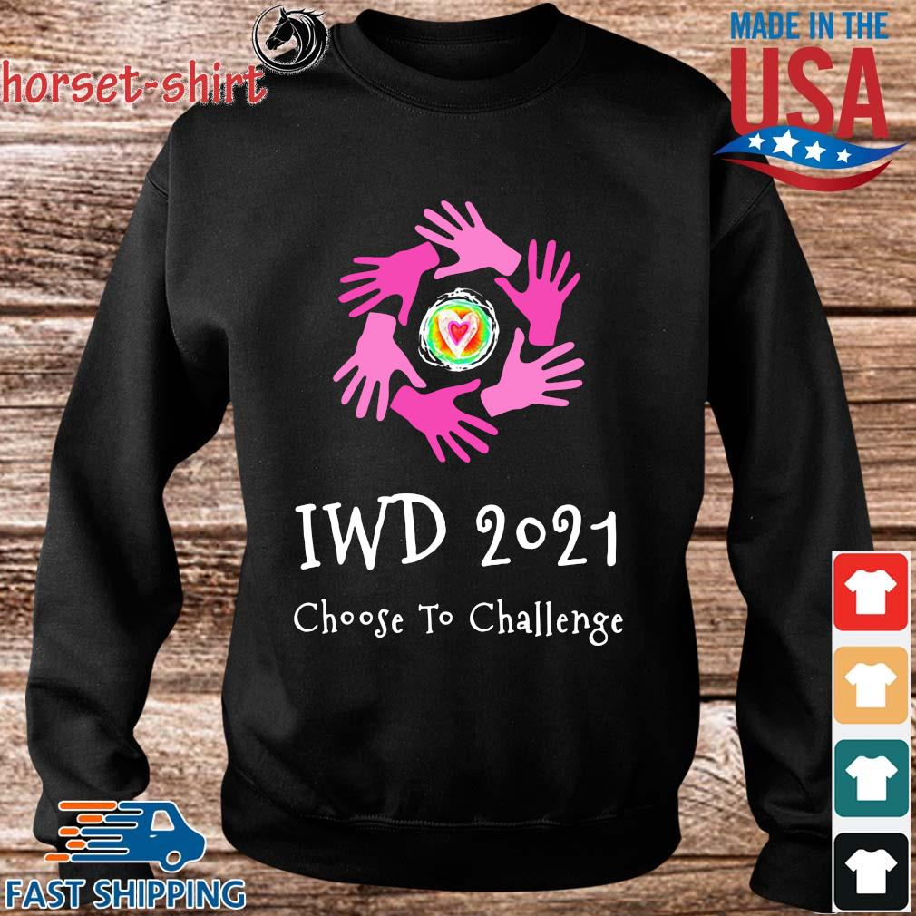 Iwd 2021 choose to challenge s Sweater den