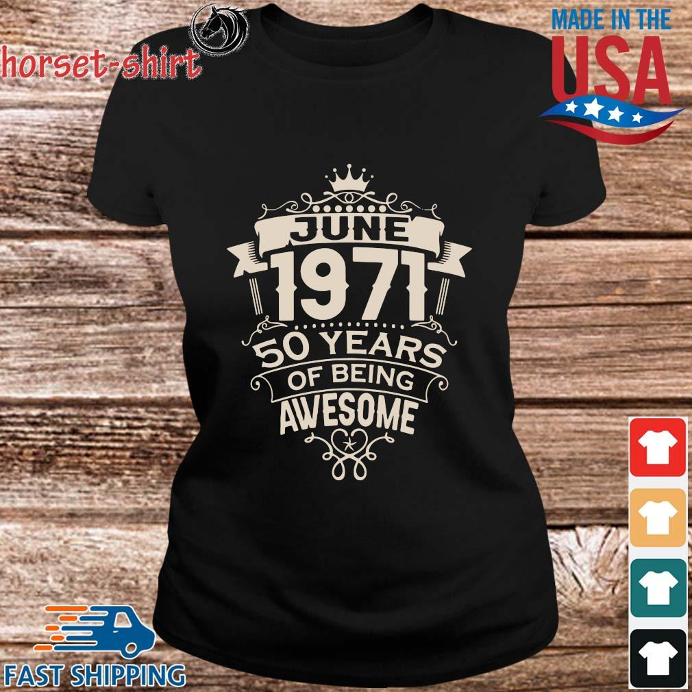 June 1971 50 years of being awesome s ladies den