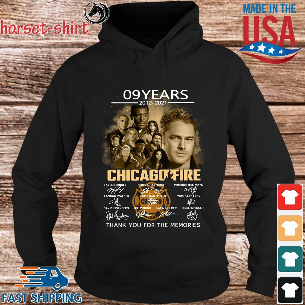 09 years 2012-2021 Chicago Fire thank you signatures s hoodie den