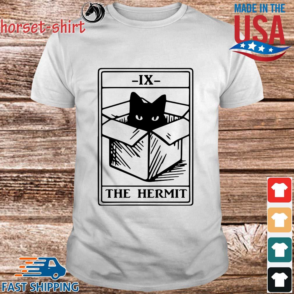 Cat ix the hermit shirt