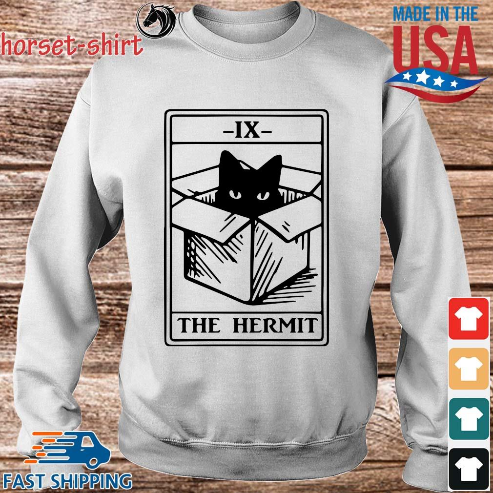 Cat ix the hermit s Sweater trang