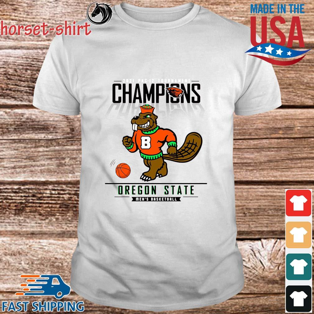 Champions Oregon State Beavers Men's Basketball Shirt