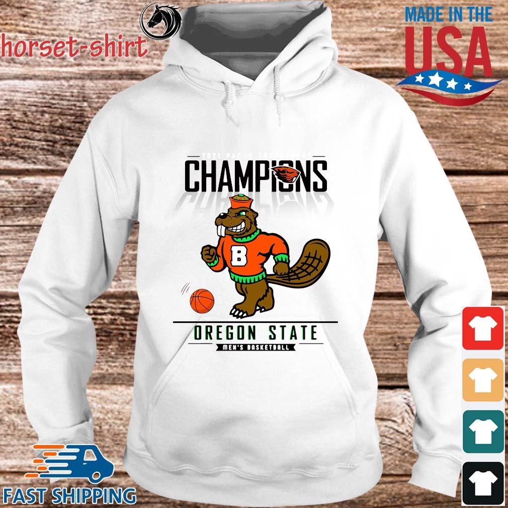 Champions Oregon State Beavers Men's Basketball Shirt hoodie trang