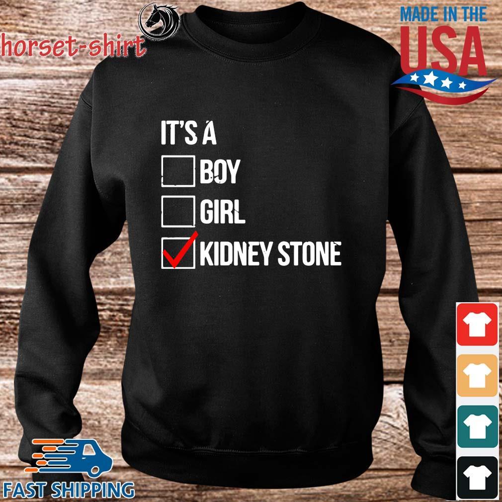 It's boy girl kidney stone s Sweater den