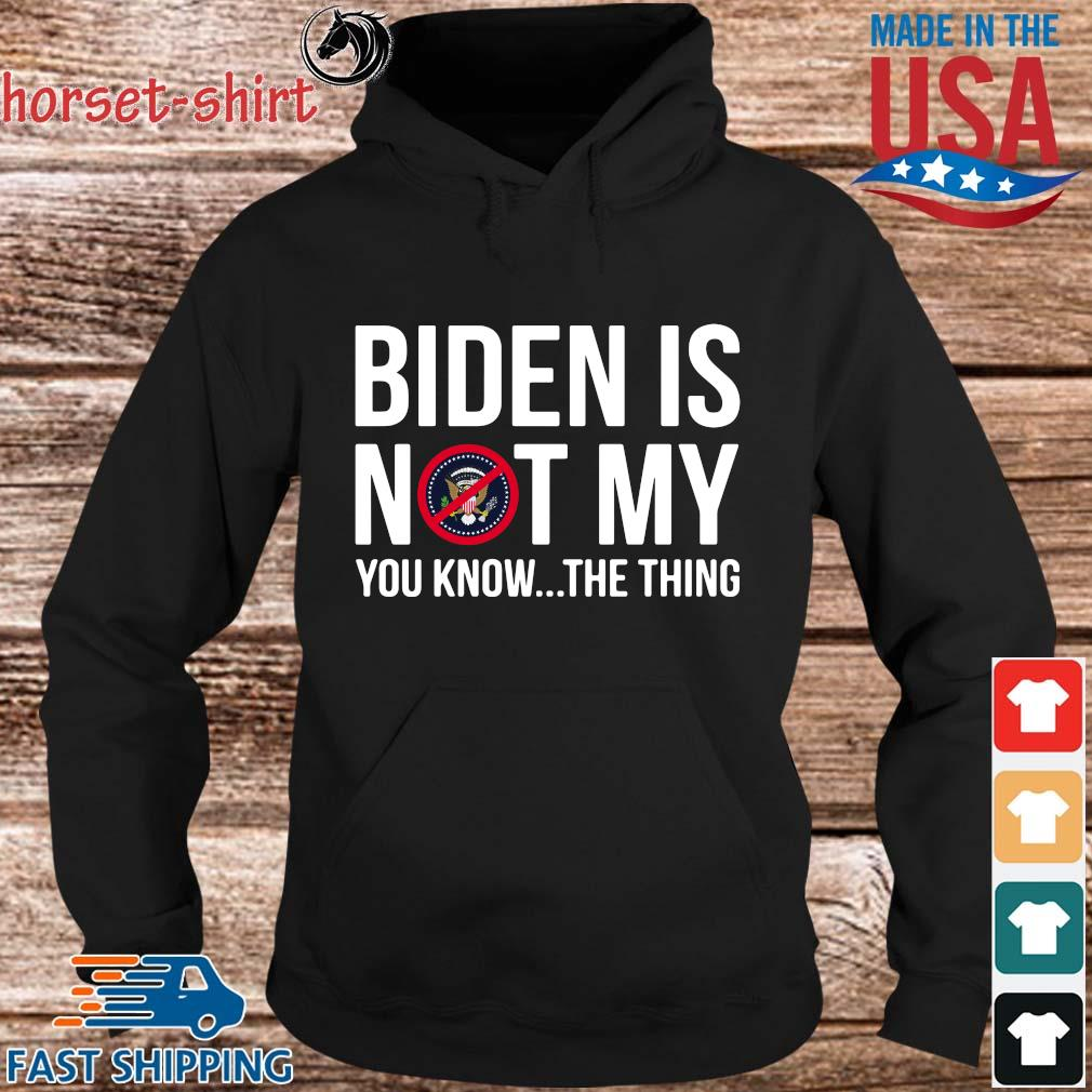 Joe Biden is not my you know the thing s hoodie den