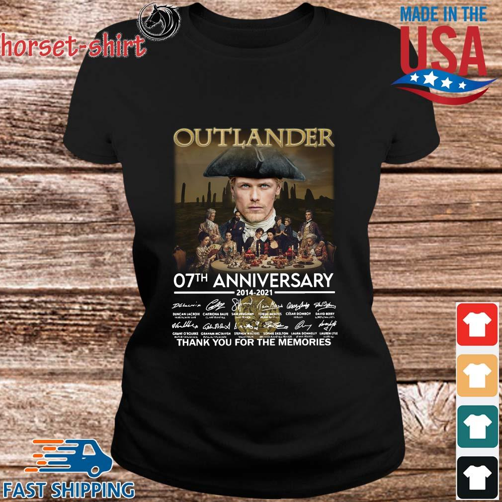 Outlander 07th anniversary 2014-2021 thank you for the memories signatures s ladies den