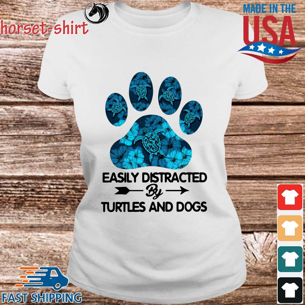 Paw easily distracted by turtles and dogs s Ladies trang