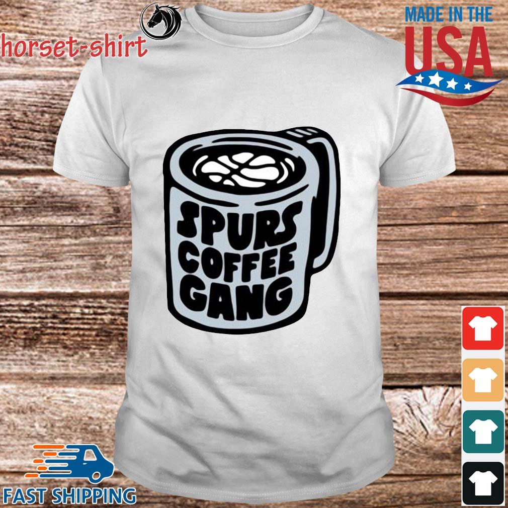 Samanic luka spurs coffee gang shirt