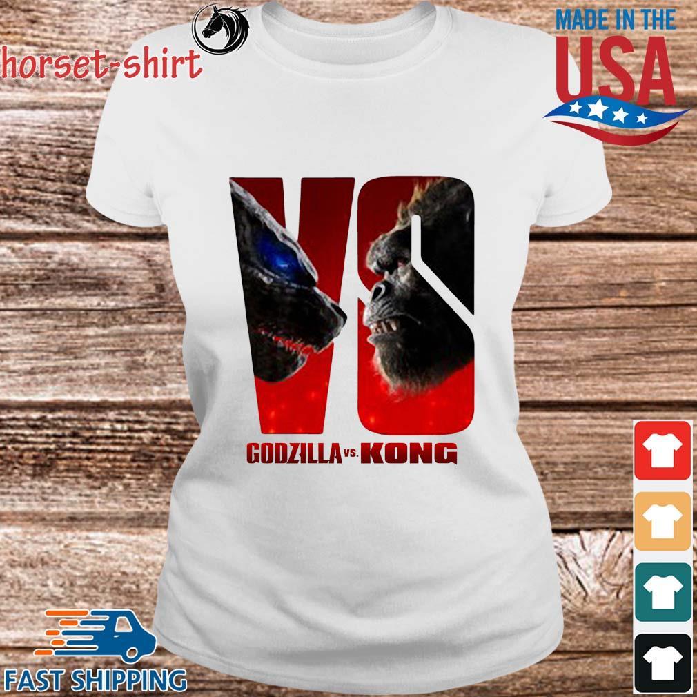 Series Godzilla Vs Kong Shirt Ladies trang