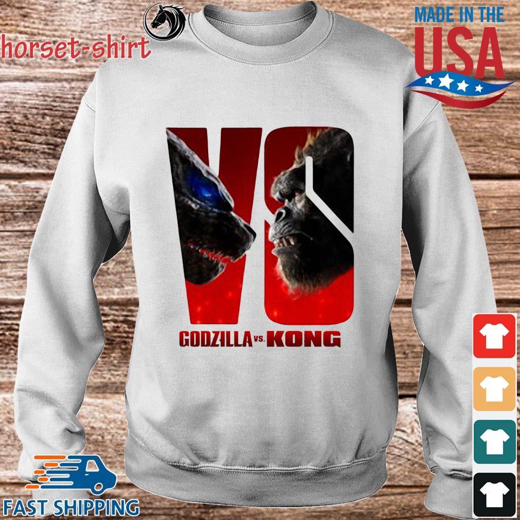 Series Godzilla Vs Kong Shirt Sweater trang
