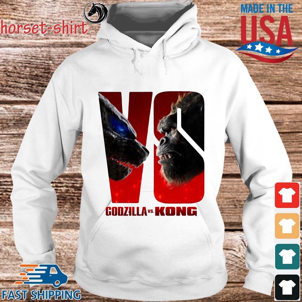 Series Godzilla Vs Kong Shirt hoodie trang