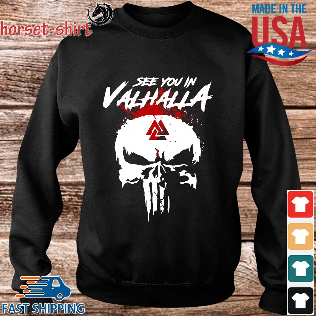 Skull see you in valhalla s Sweater den