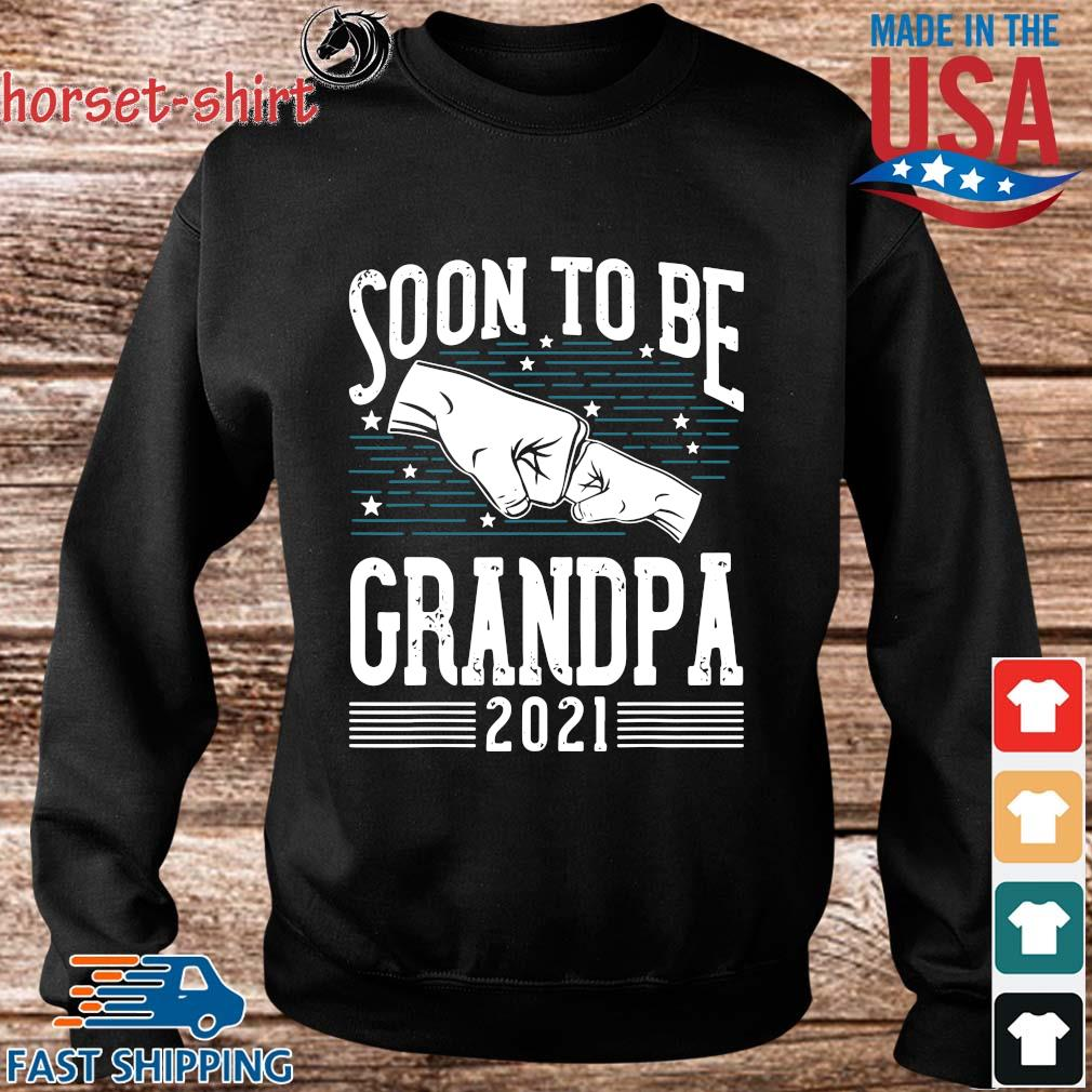 Soon to be grandpa 2021 s Sweater den