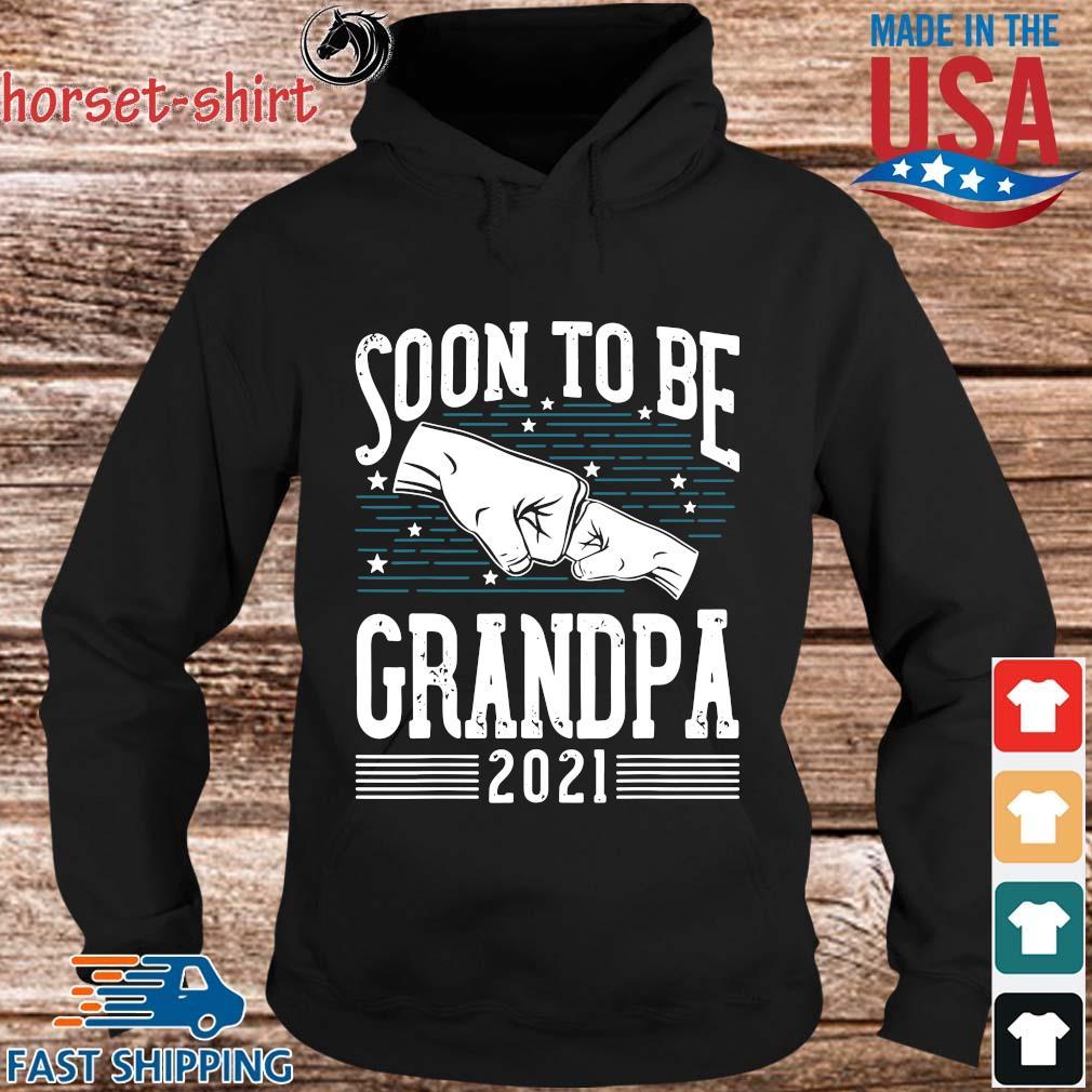 Soon to be grandpa 2021 s hoodie den