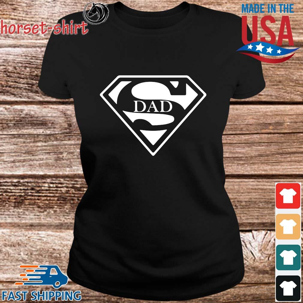 Superman Dad Shirt ladies den