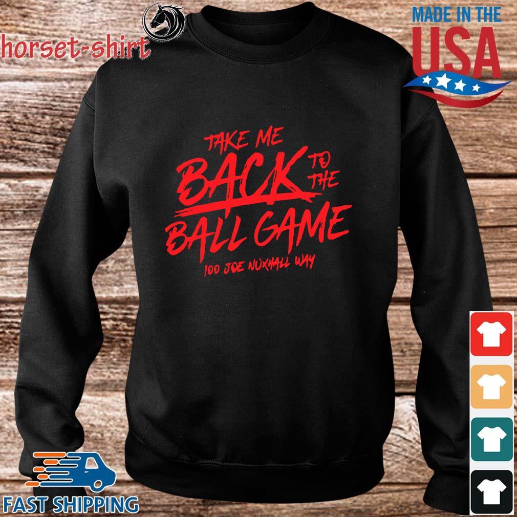 Take Me Back To The Ball Game 100 Joe Nuxhall Way Shirt Sweater den