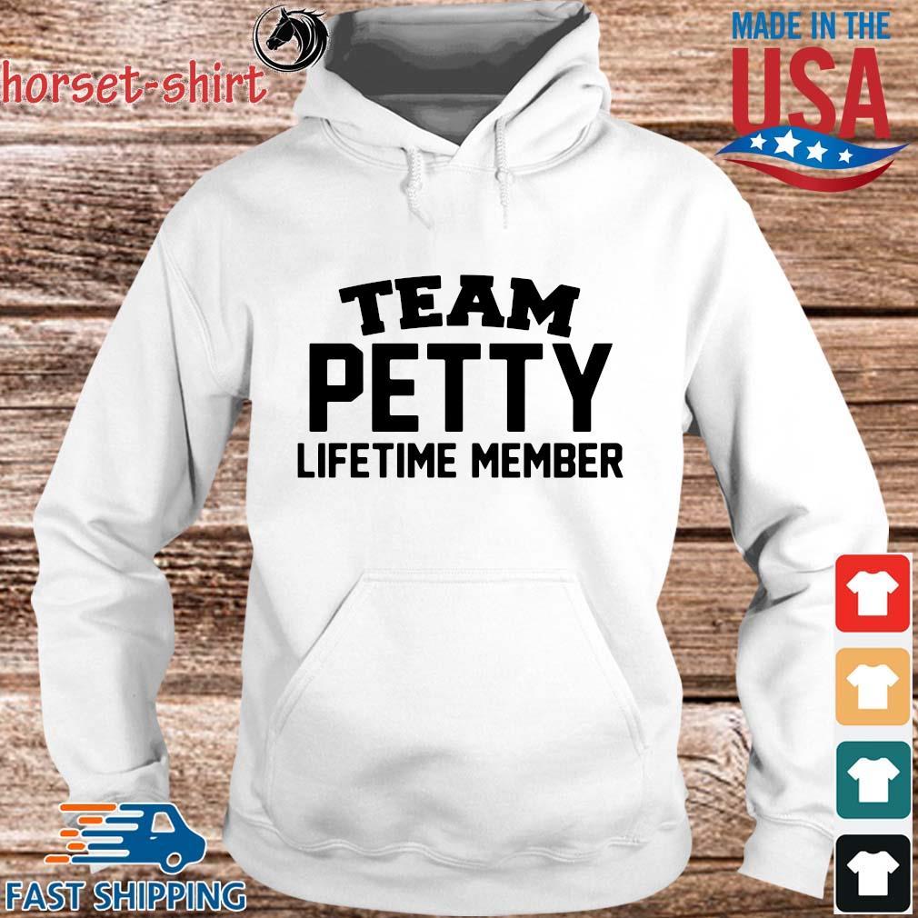 Team petty lifetime member s hoodie trang