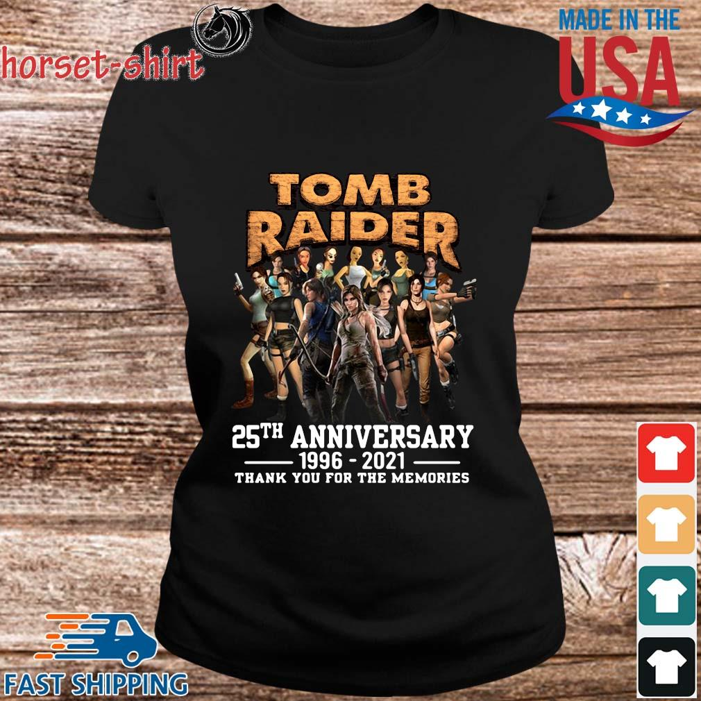 Tomb Raider 25th anniversary 1996-2021 thank you for the memories s ladies den