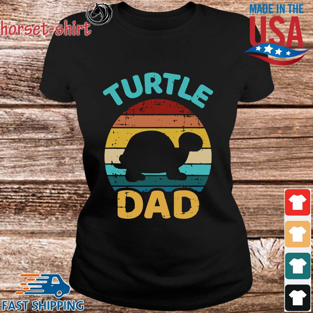 Turtle Dad Vintage Shirt ladies den
