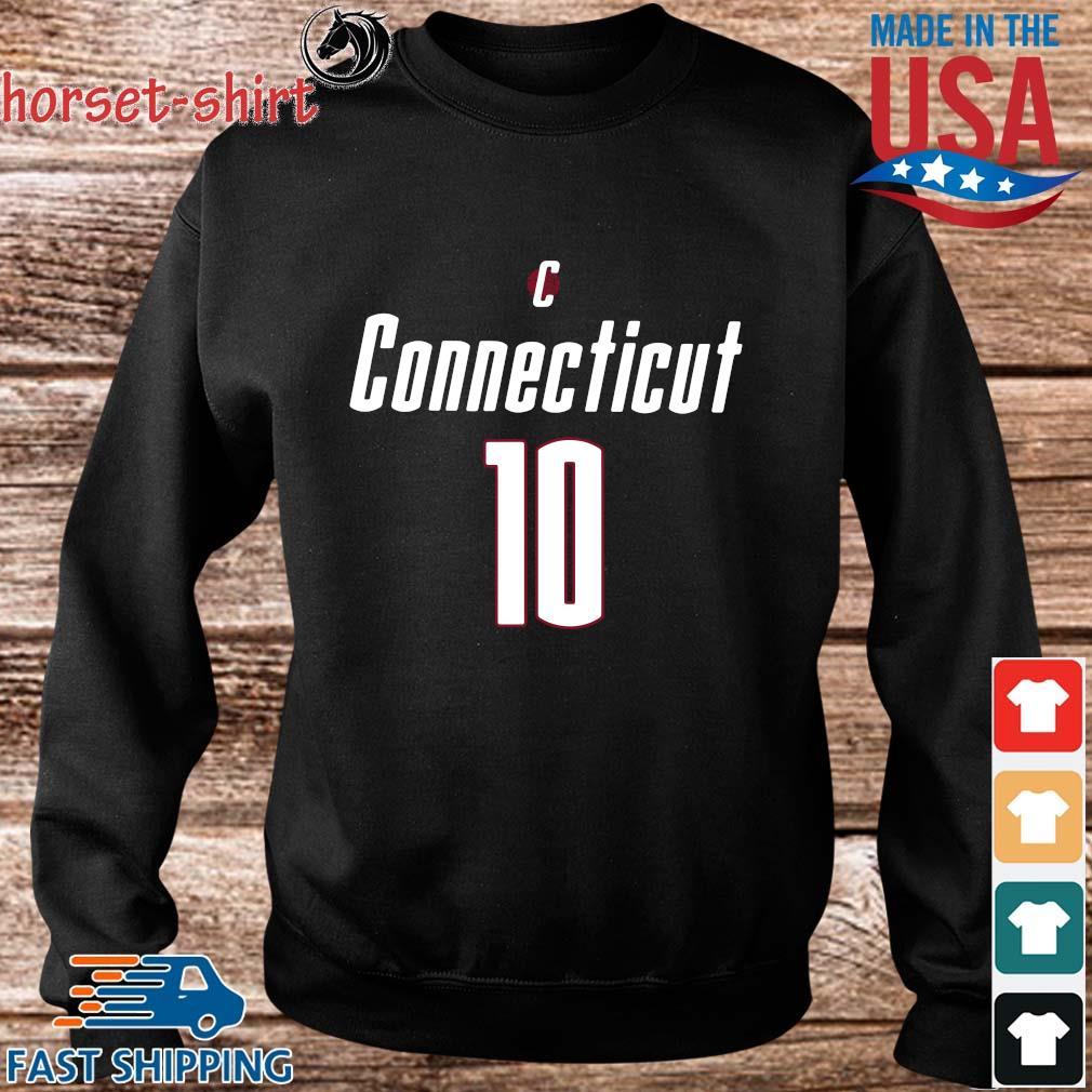 Uconn Basketball Sue Bird 10 Shirt Sweater den