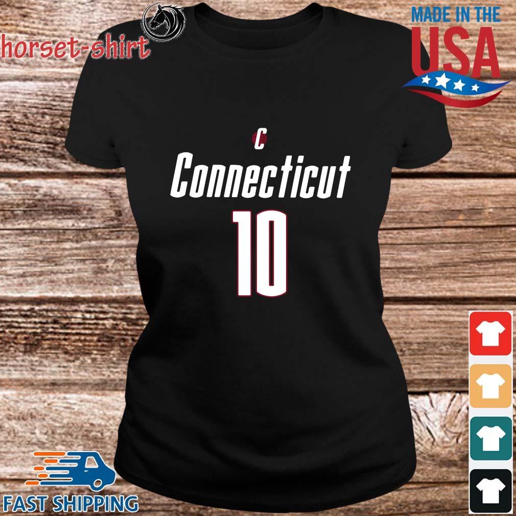 Uconn Basketball Sue Bird 10 Shirt ladies den