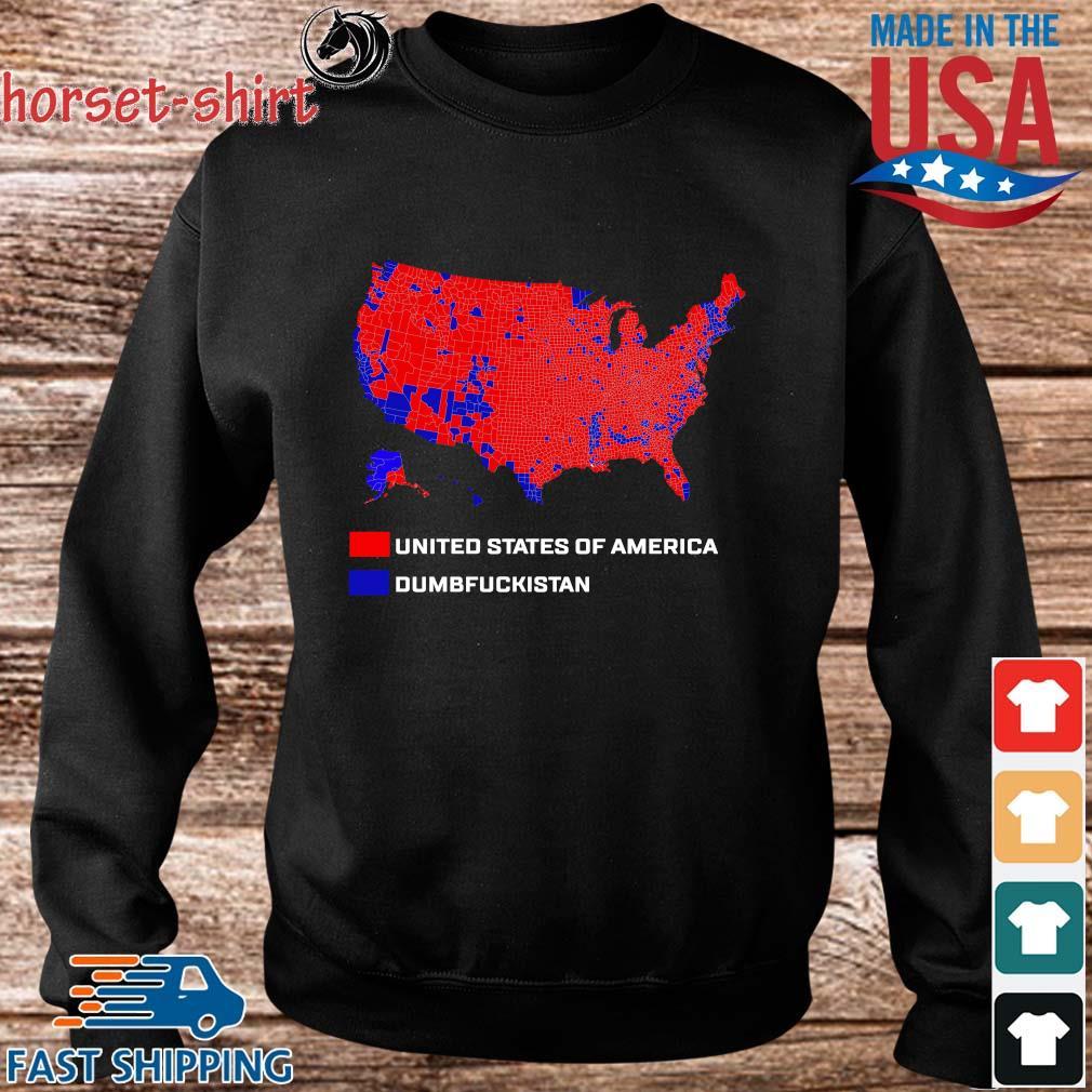 United States Of America Dumbfuckistan Shirt Sweater den