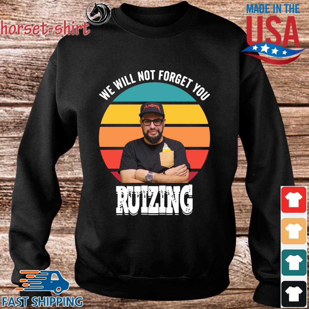 We will not forget you carl ruiz ruizing vintage s Sweater den