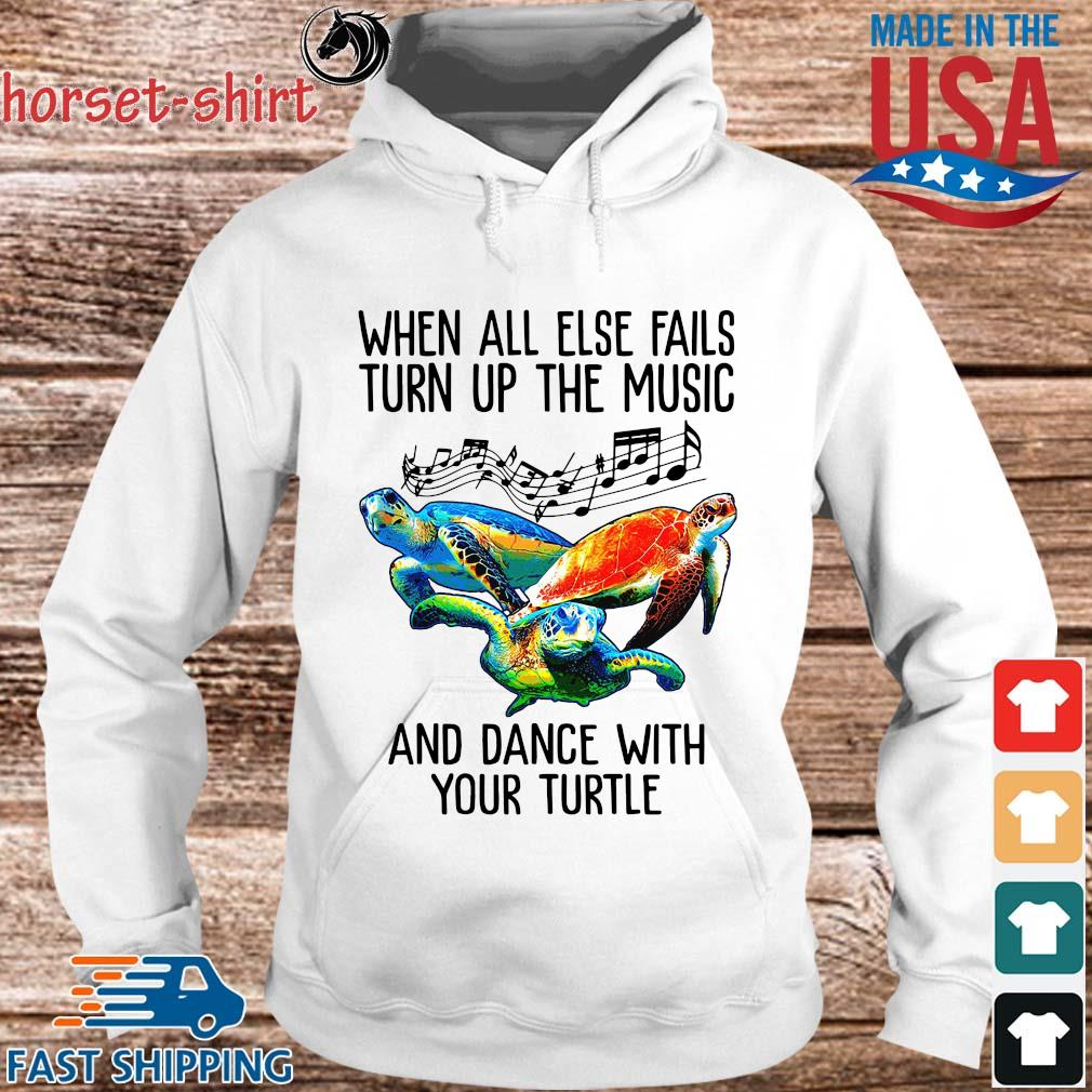When all else fails turn up the music and dance with your turtle s hoodie trang