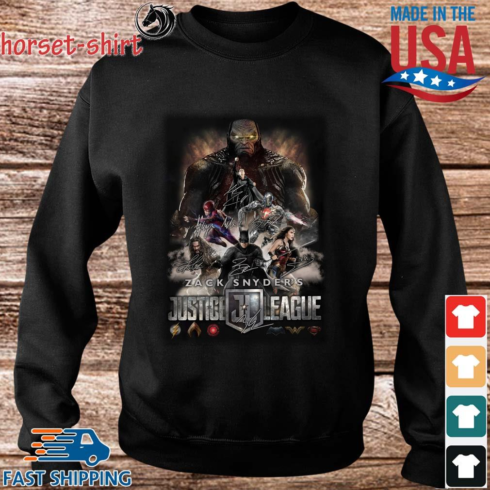 Zack Snyder_s Justice League 2021 Signatures Shirt Sweater den