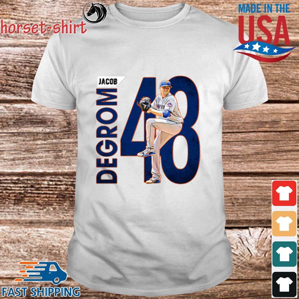 48 Jacob Degrom New York Mets Baseball Shirt