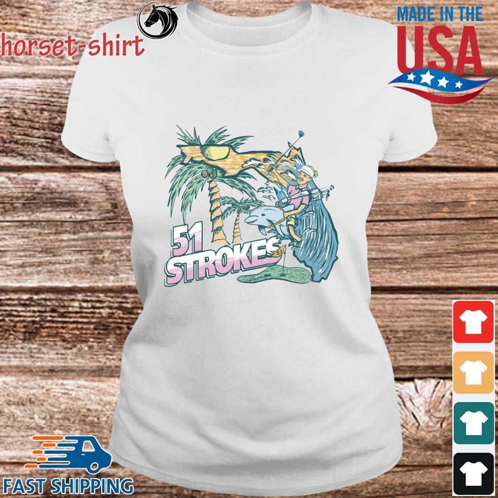 51 Strokes Crewneck Pocket Shirt Ladies trang