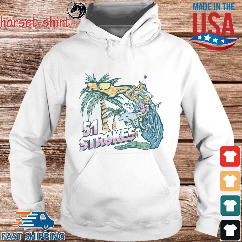 51 Strokes Crewneck Pocket Shirt hoodie trang