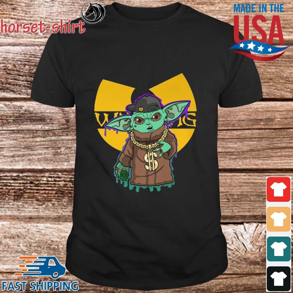 Baby Yoda Wu-Tang Clan shirt