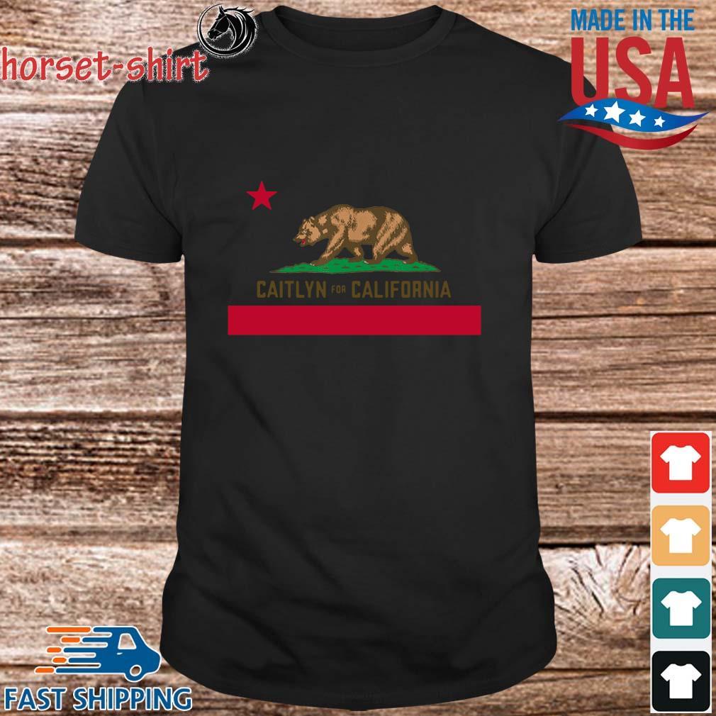 Bear Caitlyn for California shirt