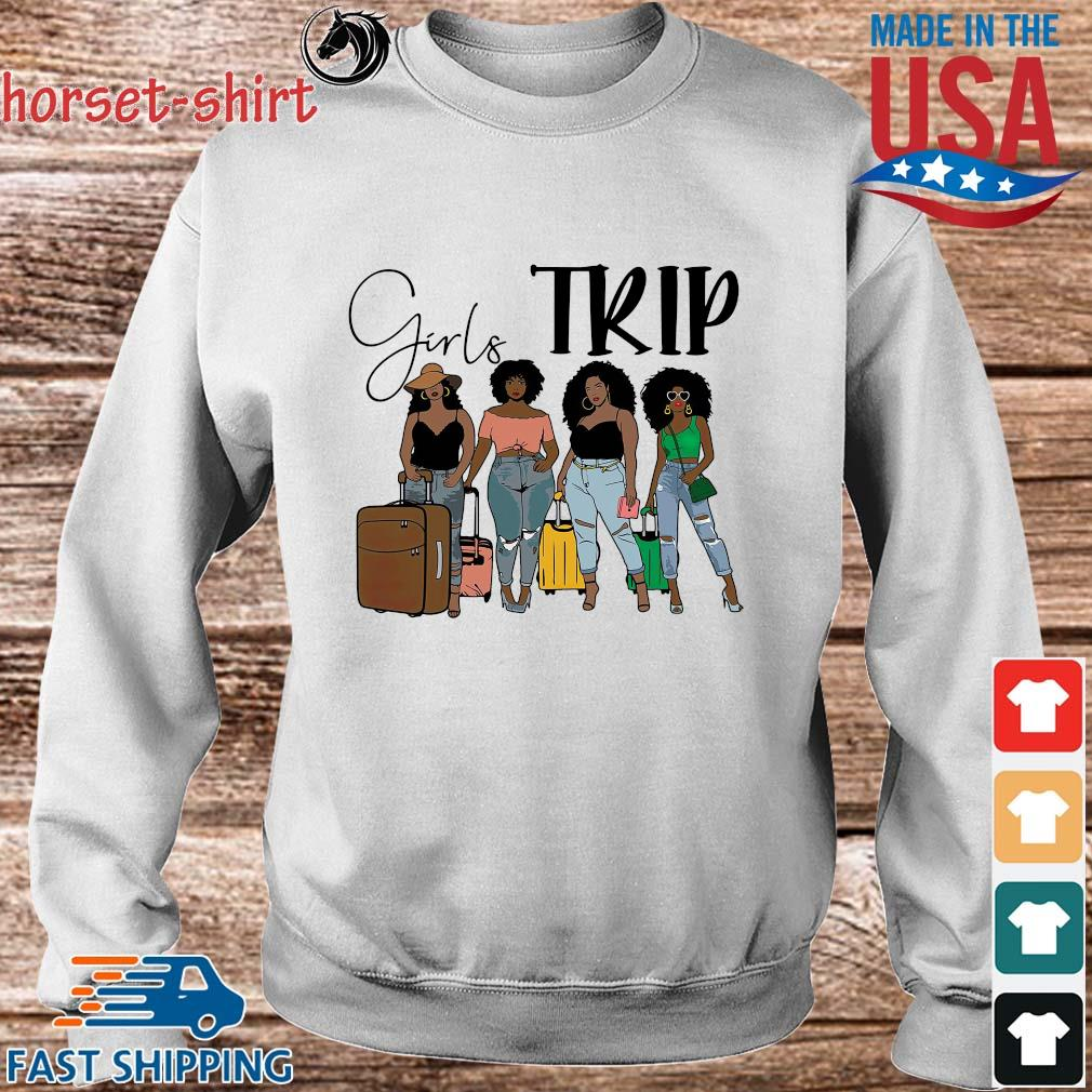 Black girls trip s Sweater trang