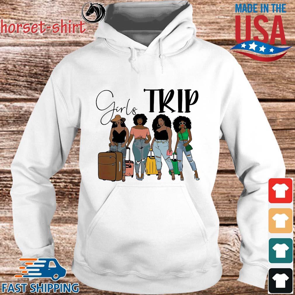Black girls trip s hoodie trang