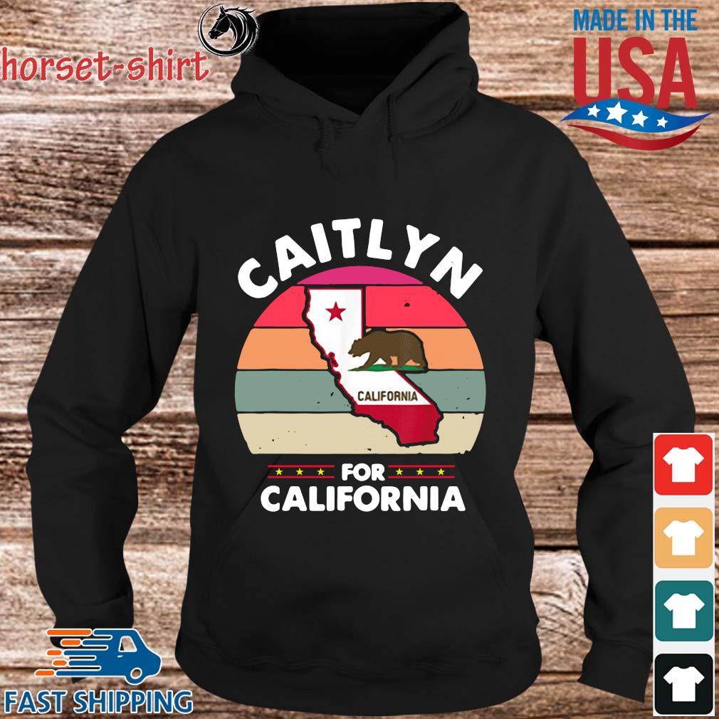 Caitlyn bear for California vintage s hoodie den