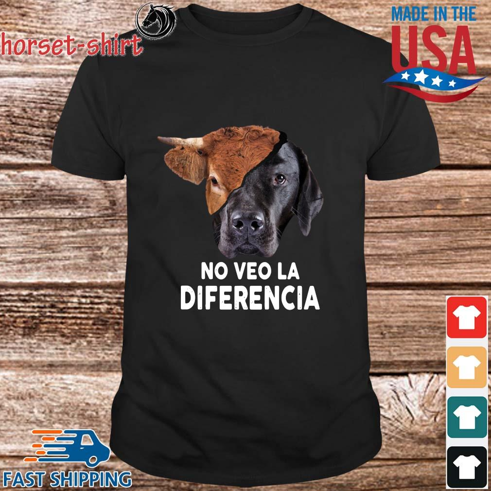 Cow and dog no veo la diferencia shirt