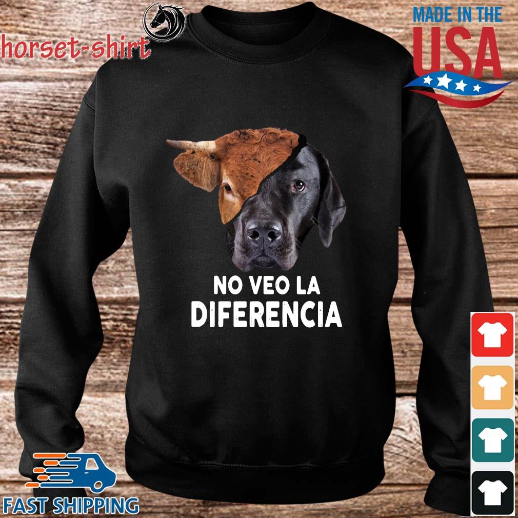 Cow and dog no veo la diferencia s Sweater den