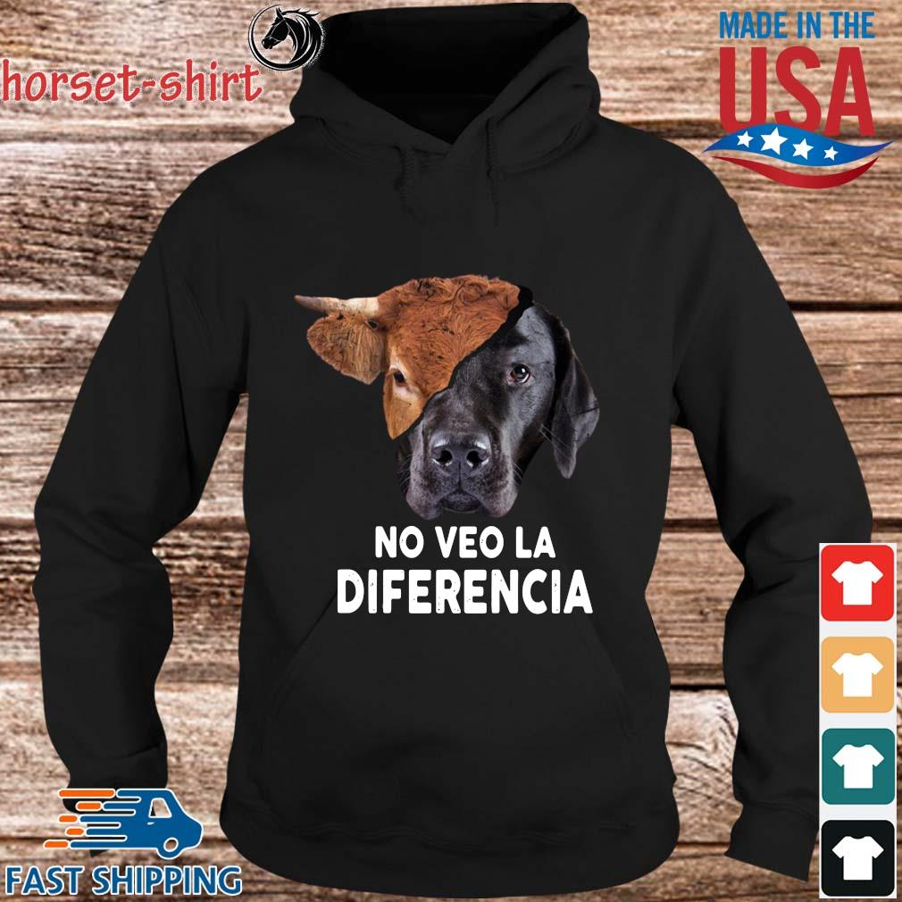 Cow and dog no veo la diferencia s hoodie den