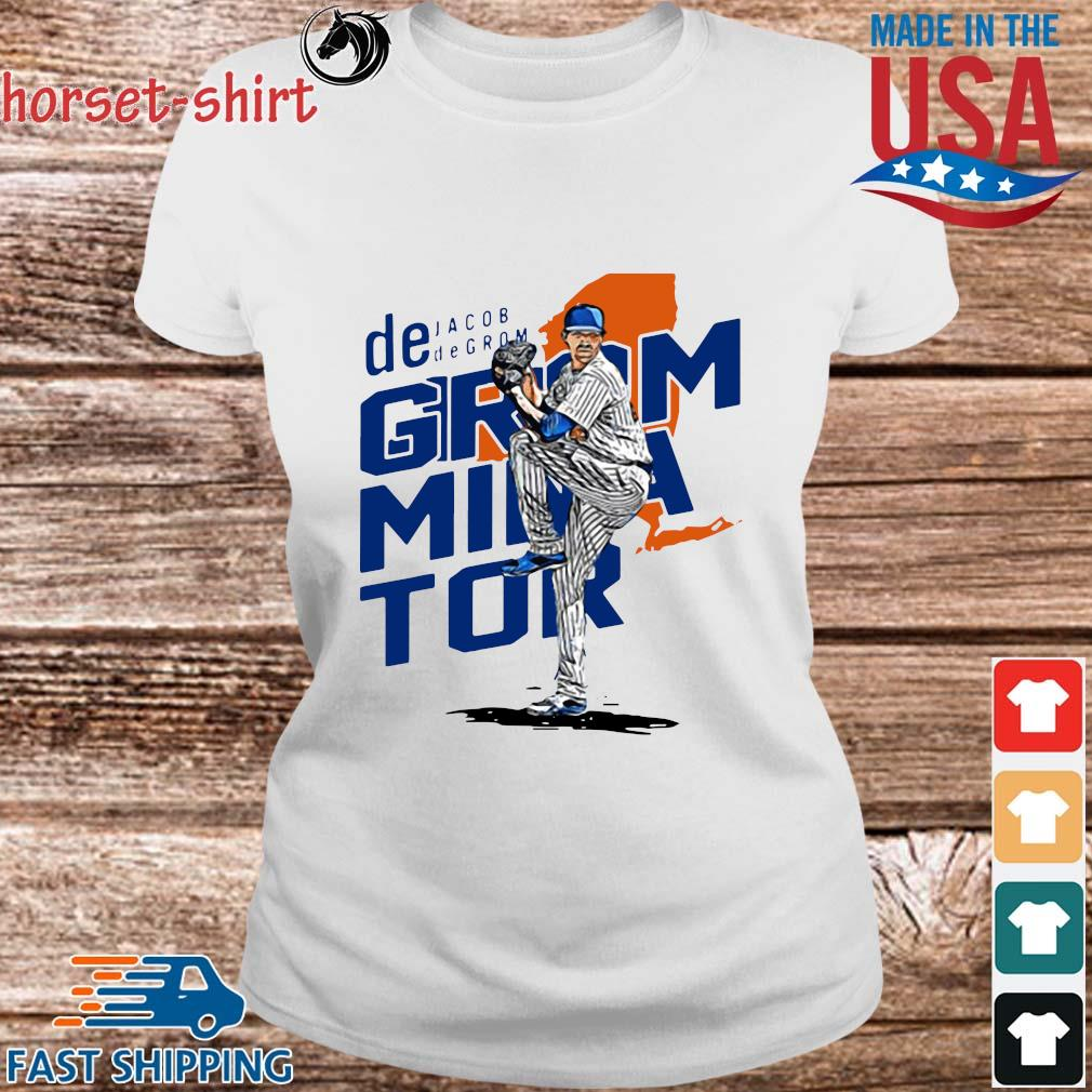 De Jacob Degrom Mina Tor Shirt Ladies trang