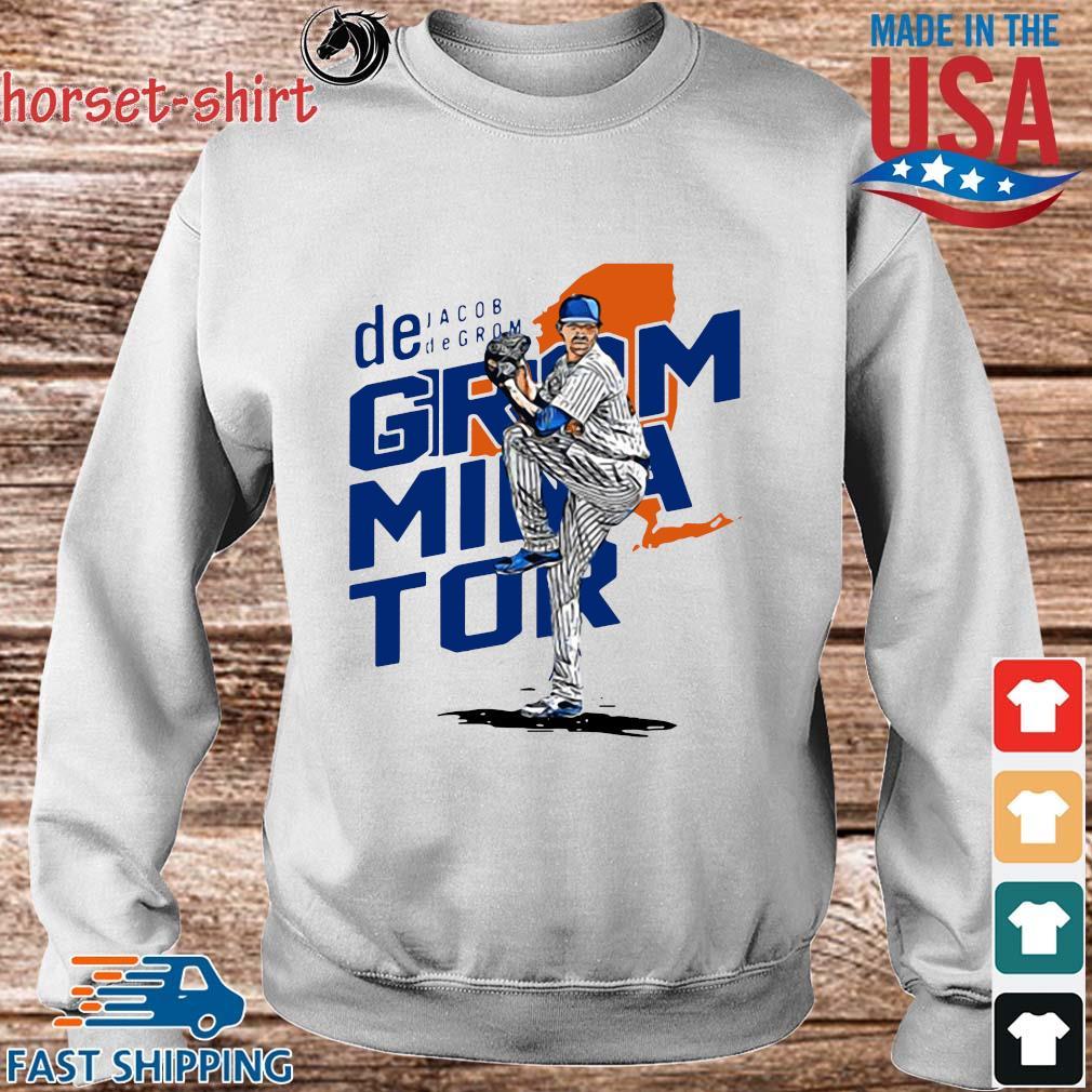 De Jacob Degrom Mina Tor Shirt Sweater trang