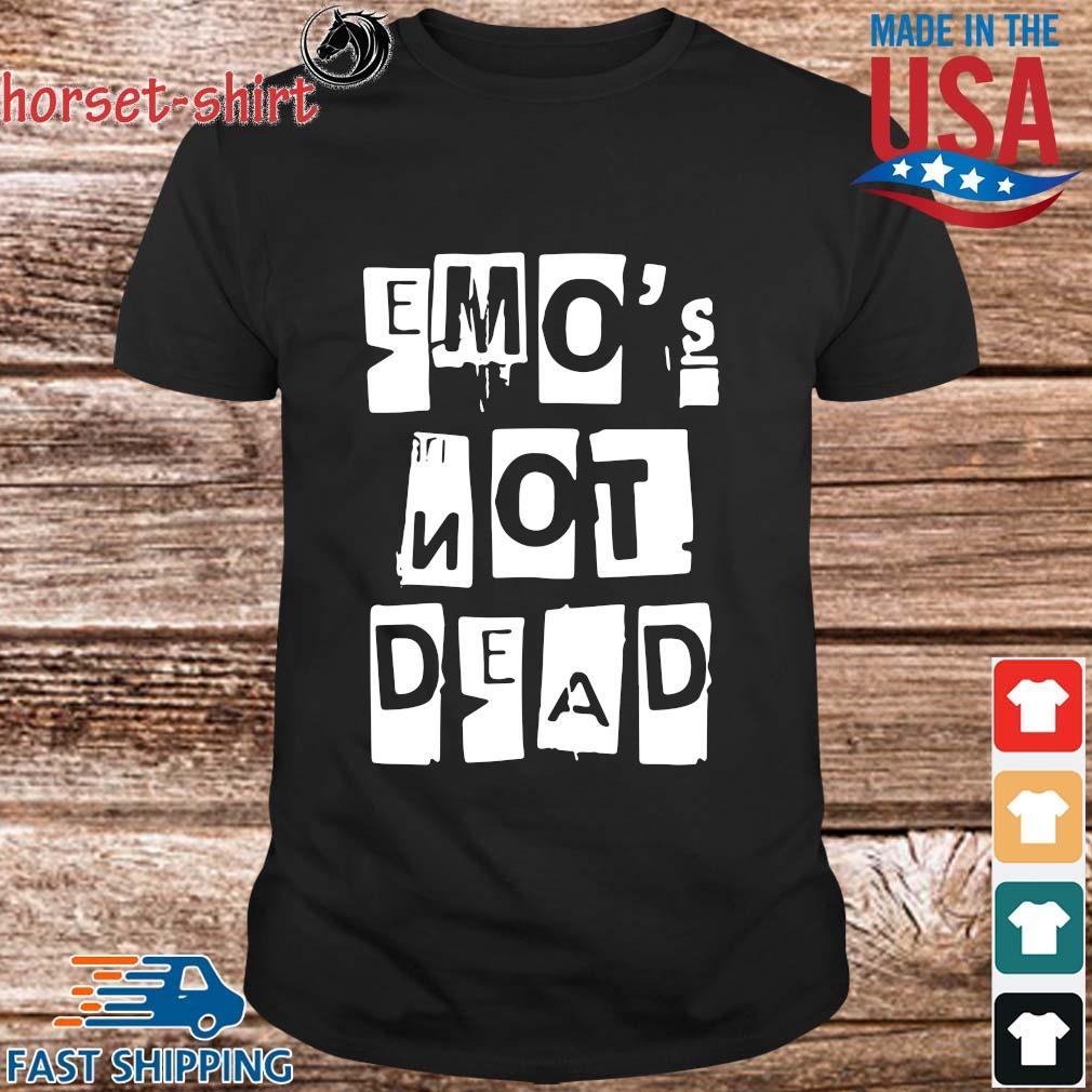 Emo's not dead shirt