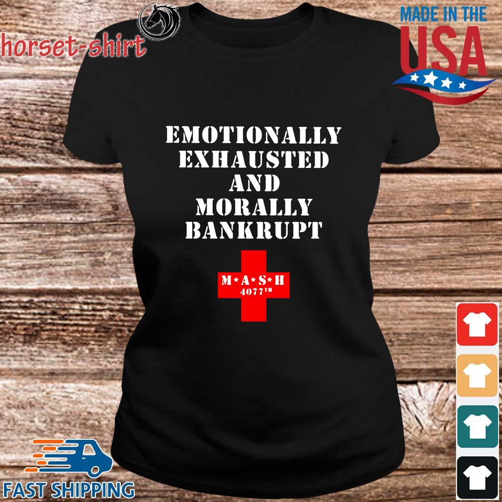 Emotionally exhausted and morally bankrupt mash 4077 tb s ladies den