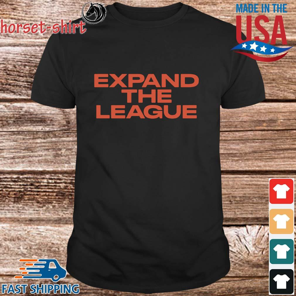 Expand the league shirt