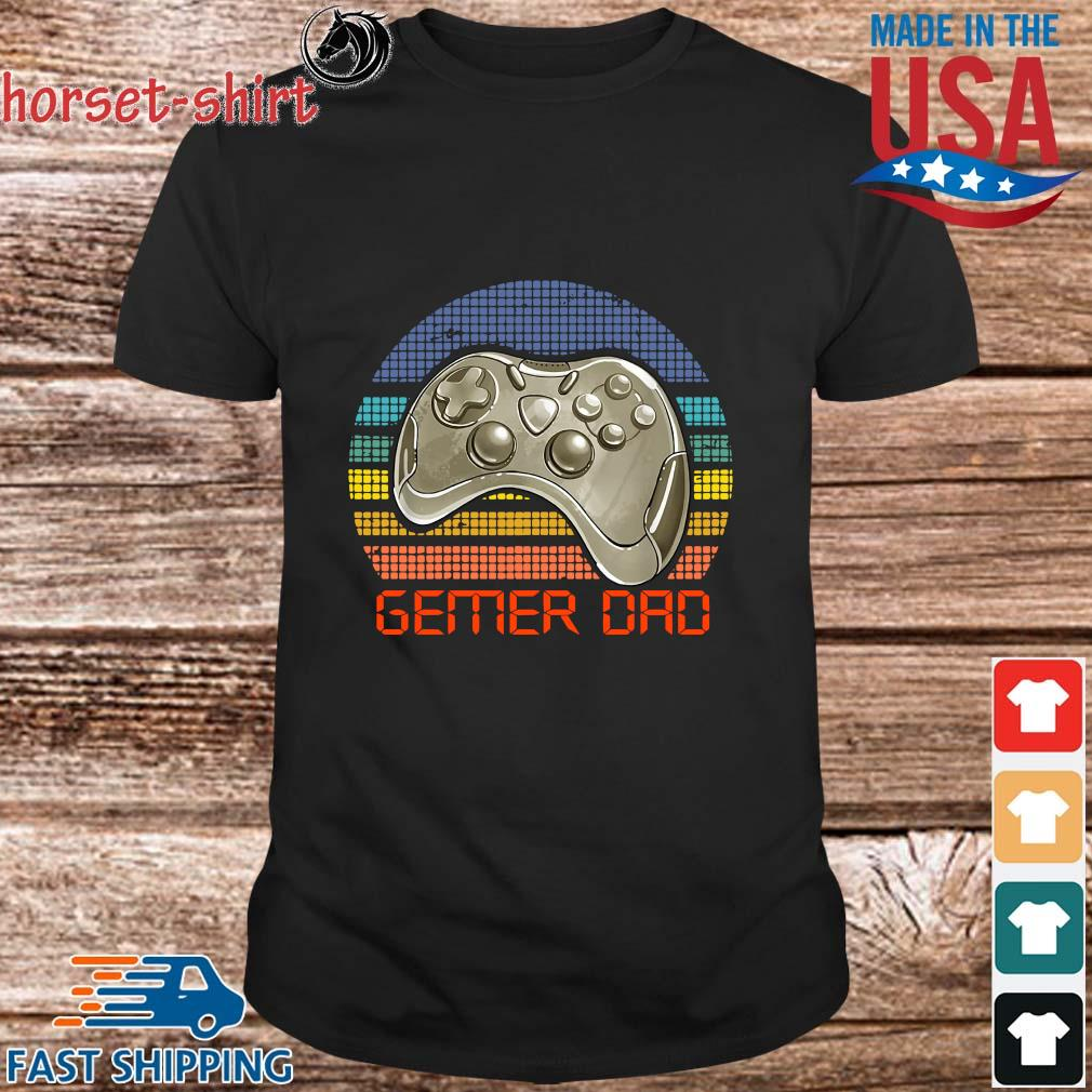 Gamer dad vintage shirt