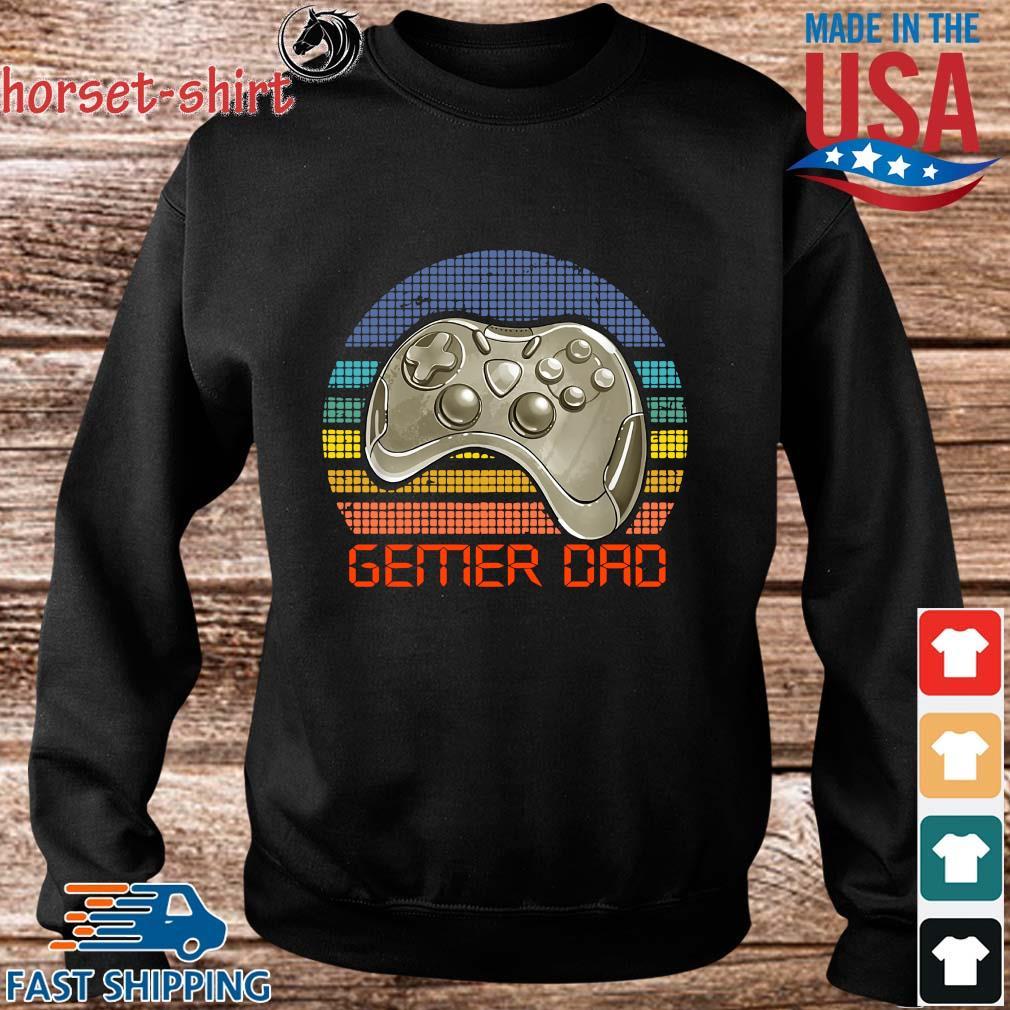 Gamer dad vintage s Sweater den