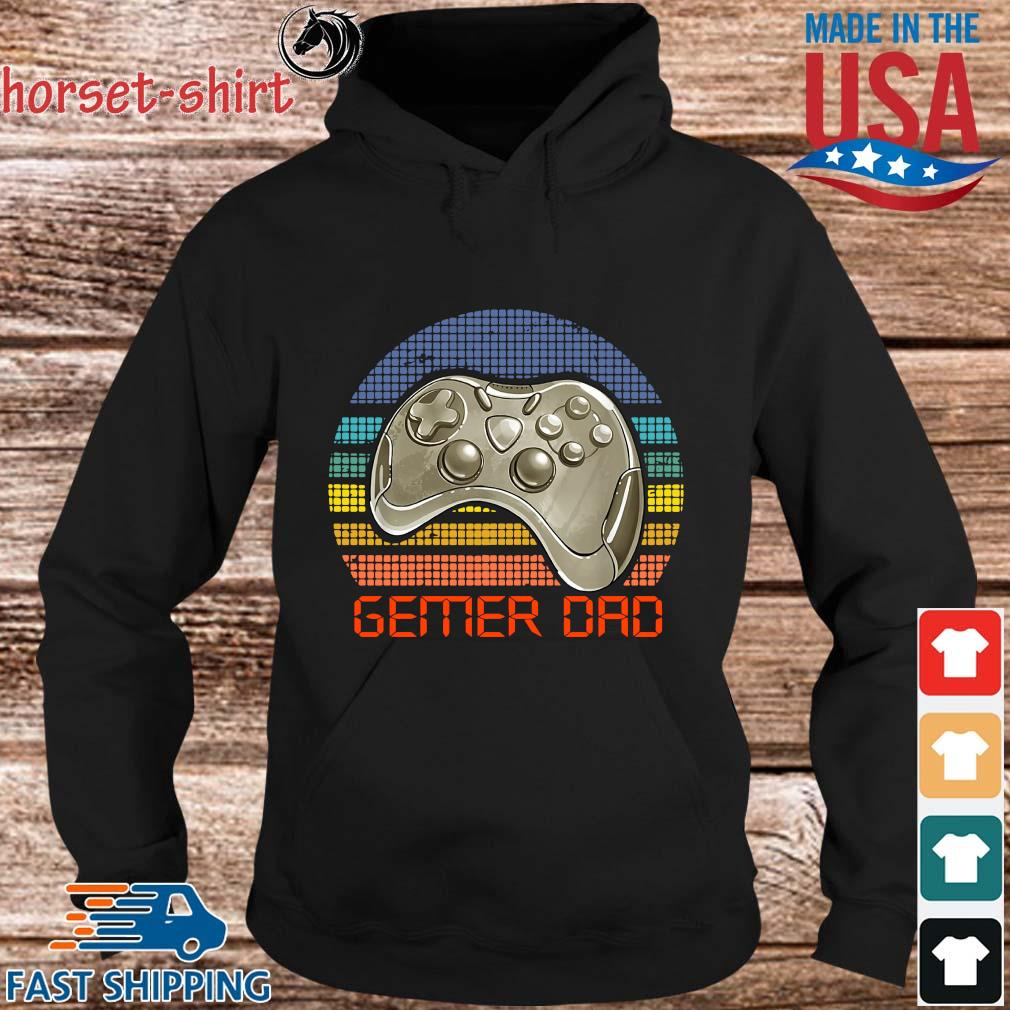 Gamer dad vintage s hoodie den
